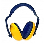 DURAPLUG™ ADJUSTABLE HEADBAND YELLOW EAR MUFF EARMUFF