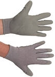 PU Coated Gloves Grey on Grey Dozen