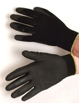 PU Coated Gloves Black on Black Case of 144 Pairs