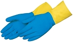 Neoprene Latex Flock Lined Household Gloves Pair