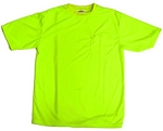 Lime Safety T-Shirt