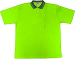 Lime Safety Polo Shirt