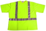 ANSI 107 Class 2 Safety T-Shirt Lime