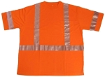 ANSI 107 Class 3 Safety T-Shirt Orange