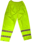 ANSI 107 Class E Waterproof Safety Pants Lime