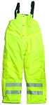 ANSI 107 Class E Waterproof Safety Pants Bib Lime