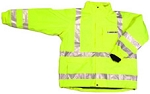 ANSI 107 Class 3 Safety 3-in-1 Parka Jacket Lime