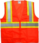 ANSI 107 Class 2 Safety Vest Orange