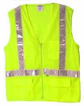 ANSI 107 Class 2 Safety Vest Lime
