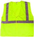 ANSI 107 Class 2 Breakaway Safety Vest Lime
