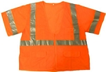ANSI 107 Class 3 Safety Vest Orange