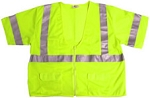 ANSI 107 Class 3 Safety Vest Lime