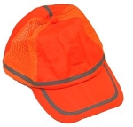 Hi Viz Baseball Cap Orange