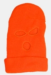 Balaclava Ski Mask Orange