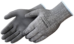 Showa Engineered Yarn Grey Polyurethane Glove Pair