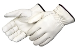 Grain Cowhide Leather Driver Gloves  Pair