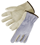 Grain Leather Driver Glove Pair