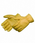 HEAVY DUTY GOLDEN DEERSKIN DRIVER GLOVES  - ONE PAIR