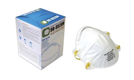 5 Case Pm2 240 Masks Respirators Particulate Of N95 9520