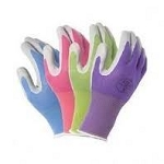 Atlas Nitrile Coated Color Gardening Gloves Pair