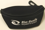 Blue Gazelle Black Glasses Goggles Case