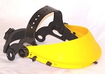 Safety Browguard Yellow Head Gear