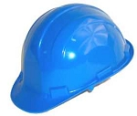 Hardhat Safety Helmet Pinlock Blue