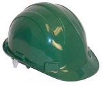 Hardhat Safety Helmet Pinlock Dark Green