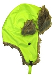 Hi Viz Trooper Hat Lime