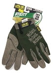 Mechanix Wear Light Duty Utility Gloves Green