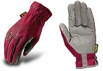 Mechanix Wear Women's Utility Work Glove Red