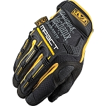 Mechanix Wear M-Pact MPact Race Glove  Black/Yellow Trim