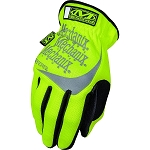 Mechanix Wear Fast Fit Hi Viz  Work Glove Yellow