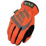 Mechanix Wear Fast Fit Hi Viz  Work Glove Orange