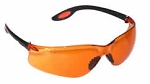 Aries Safety Glasses Orange Lenses
