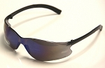 Aries Lite Safety Glasses Blue Mirror Lenses