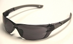 Aura Safety Glasses Grey Lenses