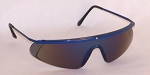 Mercury Safety Glasses Blue Mirror Lenses