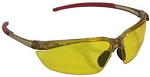 Typhons Safety Glasses Amber Yellow Lenses