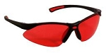 VenusX Safety Glasses Vermilion Lenses