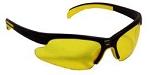 Hydras Safety Glasses Amber Yellow Lenses