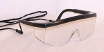 Legasy 5 Safety Glasses w/Cord Clear Lenses
