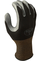 Atlas Nitrile Coated Black Back Gloves Dozen Pairs