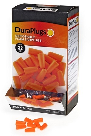 Case of Durawear Earplugs 2000 Pairs