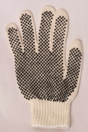 StringKnit Gloves w/PVC Dots Case of 300 Pairs