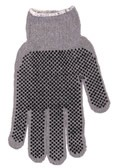 Heavyweight StringKnit Gloves w/PVC Dots Both Sides Case of 300 Pairs