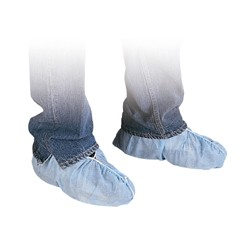 PP Polypropylene Blue Shoe Covers Model 25441 Case of 1000
