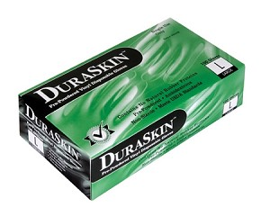 Duraskin Powder Free Vinyl Disposal Gloves Case of 10 Boxes
