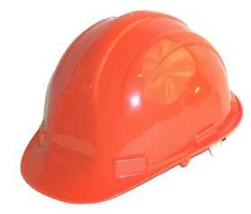 Hardhat Safety Helmet 6 Point Ratcheted Orange