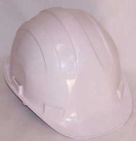 Hardhat Safety Helmet Pinlock White